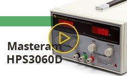 Самый мощный лабораторный блок питания Masteram HPS3060D и демонстрация работы