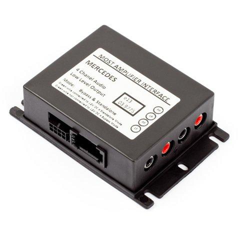 Автомобильный MOST адаптер для подключения аудиоусилителя для Mercedes Benz