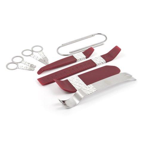 Набор инструментов для снятия обшивки 10 предметов, полиуретан сталь