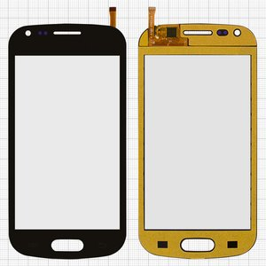 Touchscreen compatible with China-Samsung S7562, (capacitive, black, (118*59mm), (82*53mm)) #XY-1065 2013