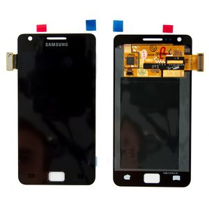 LCD for Samsung I9100 Galaxy S2 Cell Phone, (black, with touchscreen, original (change glass) )