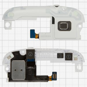 Buzzer for Samsung I9300 Galaxy S3 Cell Phone, (with headphone connector, with antenna, white)