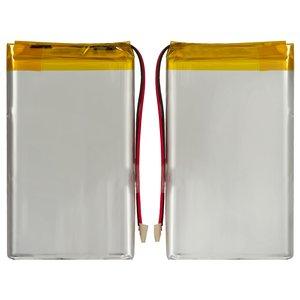 Battery, (82 mm, 48 mm, 6.0 mm, Li-ion, 3.7 V, 2600 mAh)