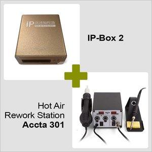 IP-Box 2 + Hot Air Rework Station Accta 301 (220V)