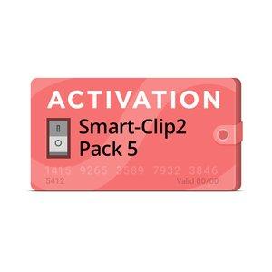Activación Pack 5 para Smart-Clip2