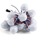 Juego de módulos LED (WS2811, 3 diodos LED SMD5050, 30 mm, IP67, 20 pcs.)