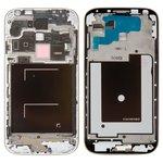Рамка крепления дисплея Samsung I9500 Galaxy S4, серебристая