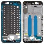 Рамка крепления дисплея Xiaomi Mi 5X, Mi A1, черная