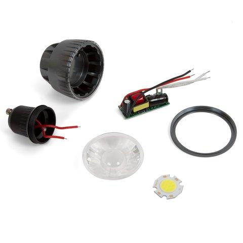 Комплект для збирання світлодіодної лампи TN A72 5 Вт холодний білий, GU10