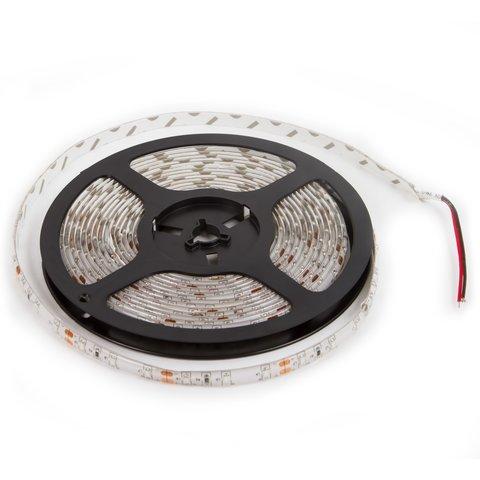 Світлодіодна стрічка SMD3528 червона, 300 світлодіодів, 12 В DC, 5 м, IP65