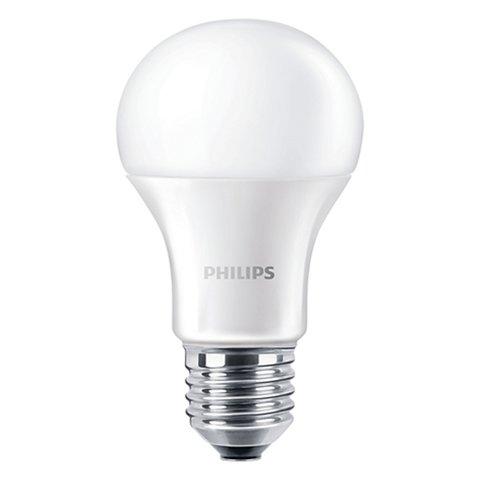 LED лампа Philips CorePro, WW теплий білий  , Е27, 9.5 Вт, 806 лм