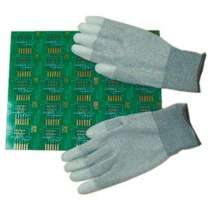 Антистатичні рукавиці Maxsharer Technology C0504-L з поліуретановим покриттям пальців