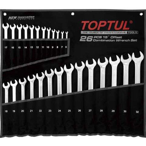 Набір гайкових ключів TOPTUL GPAA2602
