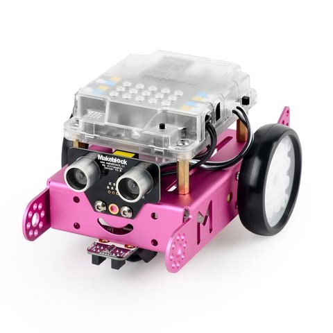 STEAM-конструктор Makeblock mBot v1.1 (рожевий)